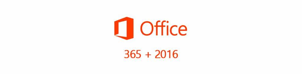Office365 i Office2016