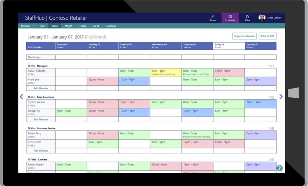 Aplikace pro telefony i tablety